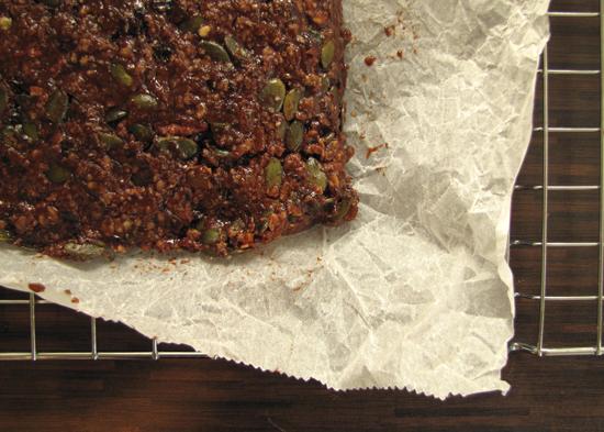 Spiced Chocolate & Pecan Flapjacks